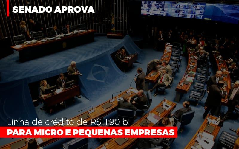 Senado Aprova Linha De Crédito De R$190 Bi Para Micro E Pequenas Empresas Notícias E Artigos Contábeis Notícias E Artigos Contábeis - Ressul Contabilidade e Assessoria | Contabilidade em São Paulo