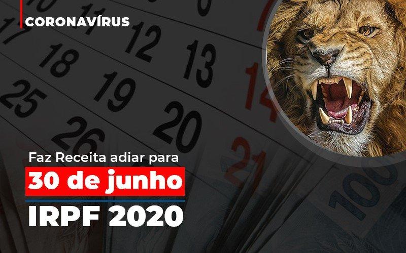 Coronavirus Faze Receita Adiar Declaracao De Imposto De Renda Notícias E Artigos Contábeis Notícias E Artigos Contábeis - Ressul Contabilidade e Assessoria | Contabilidade em São Paulo