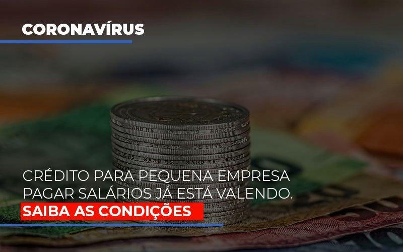 Credito Para Pequena Empresa Pagar Salarios Ja Esta Valendo Notícias E Artigos Contábeis Notícias E Artigos Contábeis - Ressul Contabilidade e Assessoria | Contabilidade em São Paulo